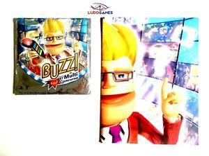 Buzz-Multiconcurso-Press-Disque-Kit-Presse-Eur-PS3-PLAYSTATION-Videogame-Complet