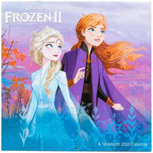 "Disney Frozen 2 16-month 2020 calendar 12/""X12/"" w"