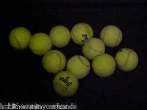 11 Utilisées Ou Pré-découpé Balles De Tennis = Chien Jouets Supprimer Des Marques D'usure Fauteuil Jambes Peluches Linge-afficher Le Titre D'origine Sang Nourrissant Et Esprit RéGulateur