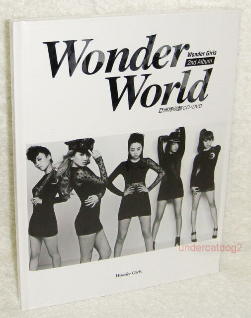 Wonder Girls Vol. 2 Wonder World Taiwan Ltd CD+DVD w be my 7da1adbb51e