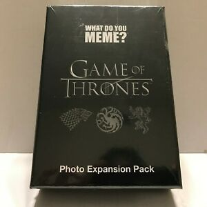 NEW Game of Thrones 75 Photo Cards What do you Mem ...