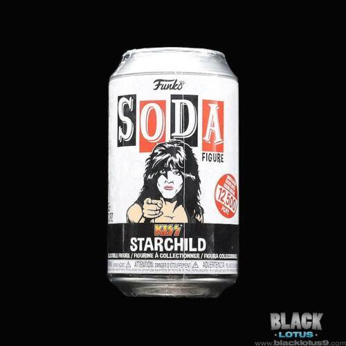 Funko Pop Vinyl SODA Kiss Starchild Paul Stanley Chase Chance 12500 IN STOCK
