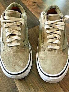 VANS Old Skool Scotchgard Low Top Skate Suede Shoes Size Mens 5.5 ...
