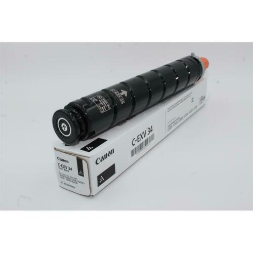 ORIGINAL 1 Satz Toner Canon C-EXV 34 neutral verpackt CMYK ORIGINAL