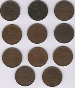 1924-1934 George V Farthing Coin Date Run | British Coins | Pennies2Pounds