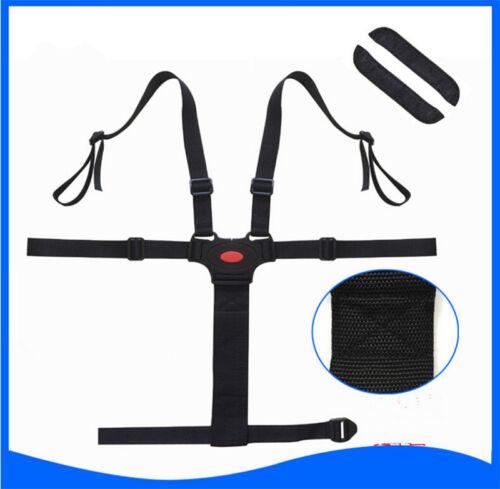 5 Point Harness Kids Safe Belt Seat For Stroller High Chair Pram Hy