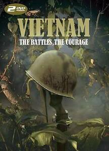Vietnam-The-Battles-the-Courage-2-Discs-DVD-New-Sealed