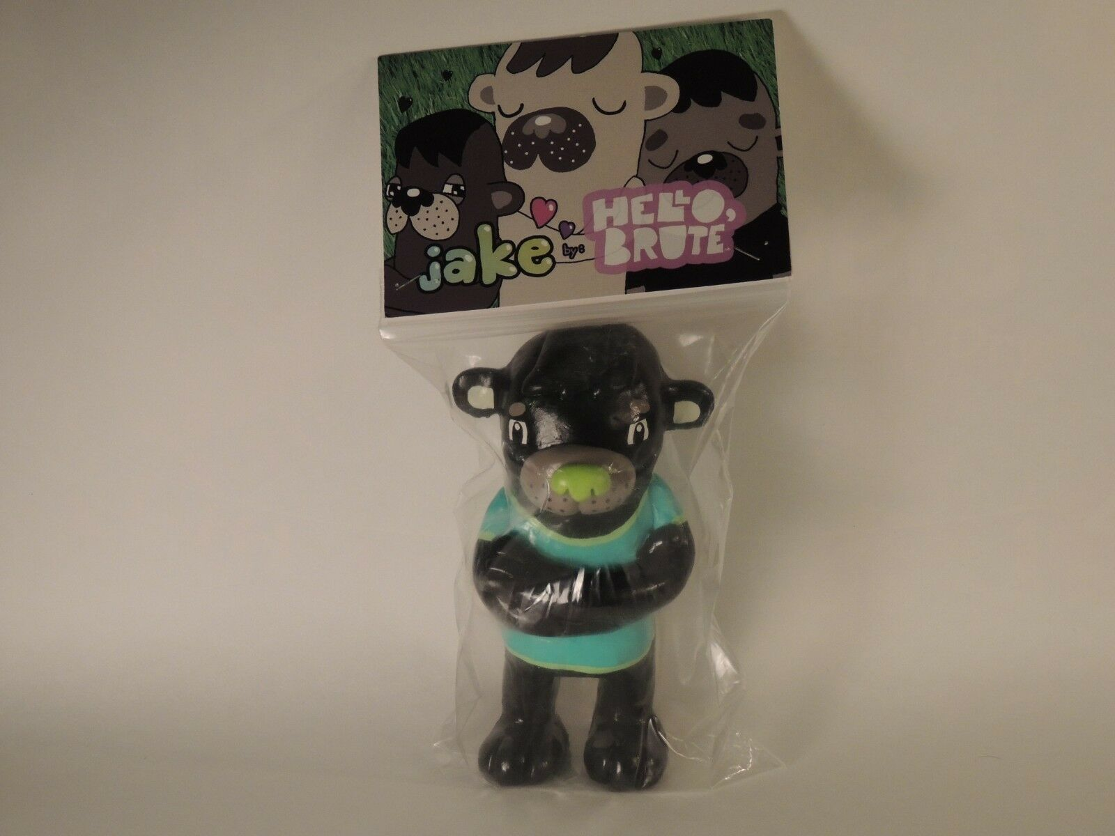 Hello Brute Jon Knox Jake handmade Sculpture Toy Designer Resin 10 10