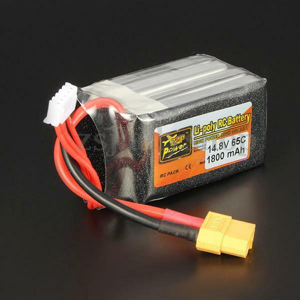 ZOP Power 14.8V 1800mAh 65C 4SLipo Battery XT60 Plug