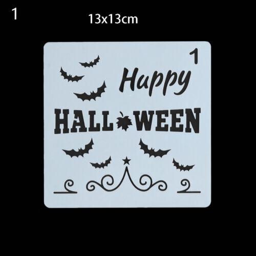dekorative paintingtemplate scrapbooking schichtung schablonen happy halloween