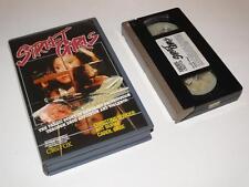 VHS Video ~ Street Girls ~ Carol Case ~ Large Case Ex-Rental Pre-Cert ~ CBS/FOX