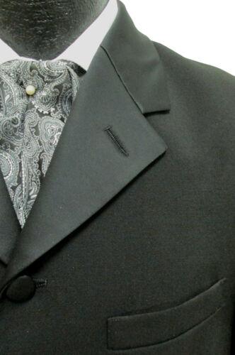 Boys Size Long Black Tuxedo Jacket Frock Coat Formal Wedding Victorian Dickens