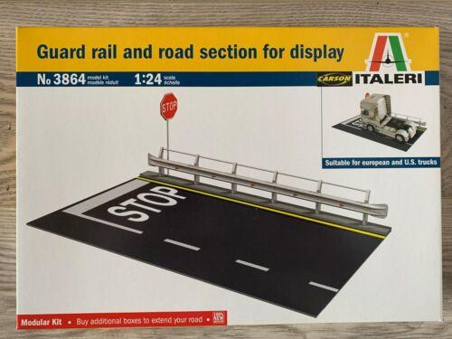 Italeri Guard Rail /& Road Section for display 1:24 803864 3864 ++