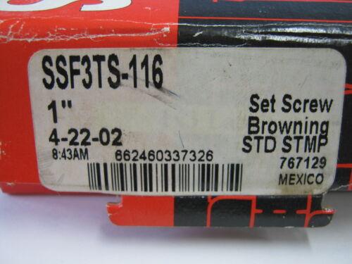 BROWNING BEARING SSF3TS-116