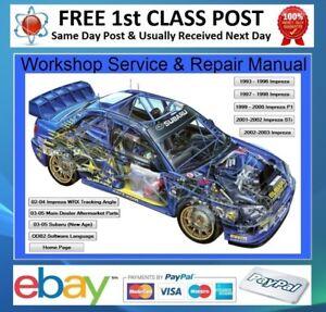 Subaru-Impreza-WRX-STi-1996-2005-Workshop-Repair-Manual-On-CD