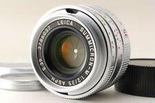 【AB- Exc】Leica SUMMICRON-M 35mm f/2 E39 ASPH Lens Silver for Leica M Mount #2961