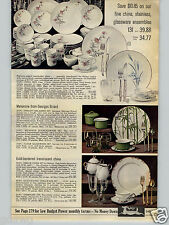 1968 Paper Ad Dinnerware Melamine Georges Briard China Mikasa Dynasty Venice