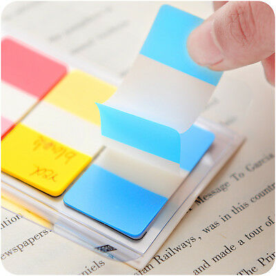 Rainbow Flags Cute Transparent Sticker Post Bookmark Sticky Notes Point Mark Kit