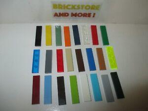 Choose Color and Quantity x2 x4 x8 Lego Tile plate Plaque lisse 2x4 87079