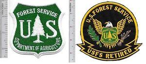 US-Forest-Service-USFS-Hotshot-Wildland-Fire-Crew-amp-USFS-Retired-Patch-w-on-g