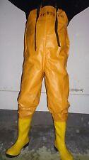Wathose  Waders    Hazmat Suit     Gummianzug   Gummistiefel   Ölzeug