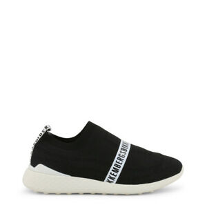 SCARPE-BIKKEMBERGS-UOMO-STRIK-ER-2106-BLACK-STRIKER-SLIP-ON-ORIGINALI-SNEAKERS