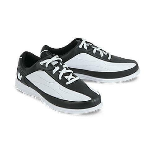New Women/'s Brunswick Bliss White//Black Bowling Shoes Wide Width Size 9.5