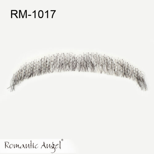 100/% Human Hair Full Hand Tied Fake Mustache Beard for Entertainment////Party//film