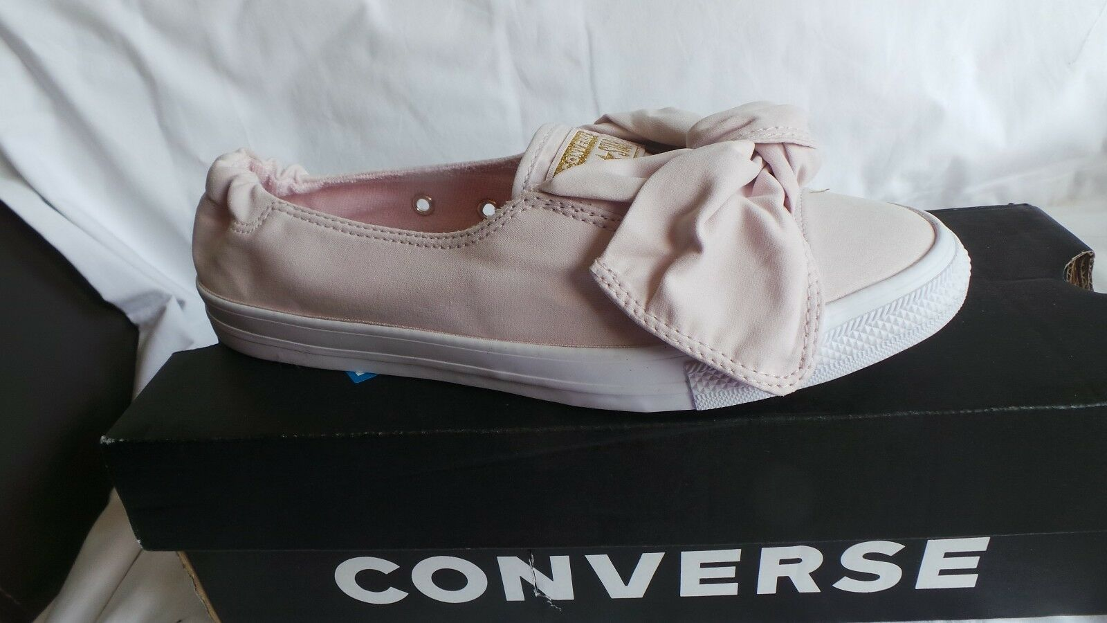 NEW in box Converse Chuck Taylor AS Knot Slip Ox Trainers Size 6 EU 40 Bare pink