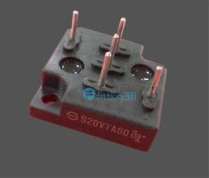 Manufacturer:SHINDENG S20VTA80 Encapsulation:MODULE 3 Phase Bridge Diode800V 20A