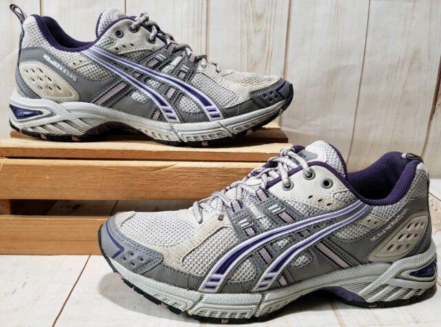 ASICS Gel enduro 5 Gray Purple Women's Running Shoes Size 9 T9C9N