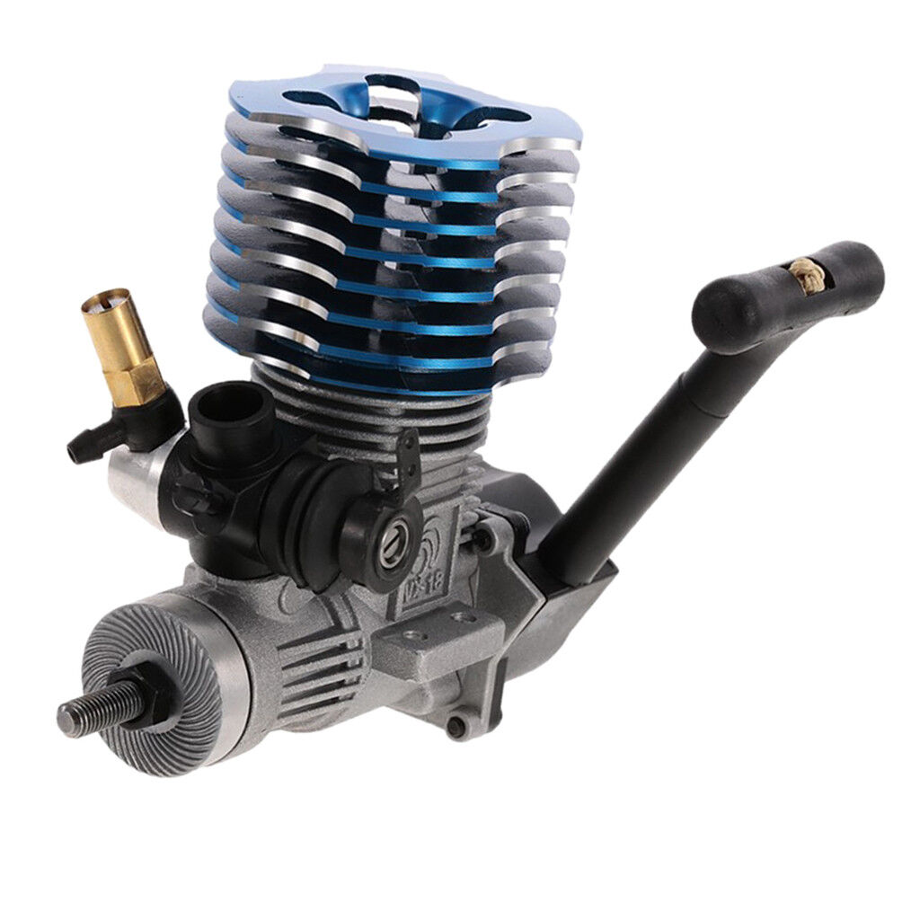 1 10 Rtuttiy auto Racing SH18  Side Nitro Engine Motor 2.74cc for 1 8 HSP 94177  acquista online oggi