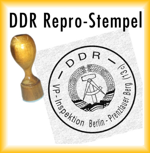 VP-Inspektion Berlin-Prenzlauer Berg DDR Siegel 13c DDR Stempel DDR