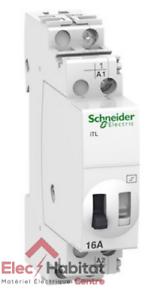 Schneider R9PCL116 16A Télérupteur 1no resi9 xp