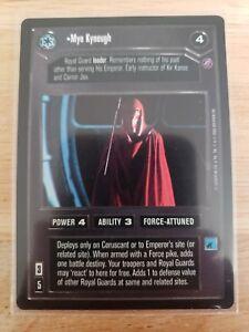 Star Wars CCG Death Star II Red Squadron 1 NrMint-MINT SWCCG