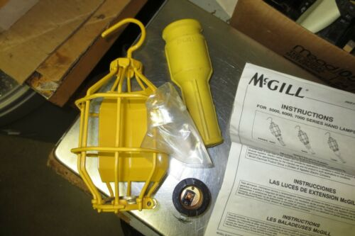 McGill 7000 Rubber Handle For Hand Lamp  W Cage Instructions