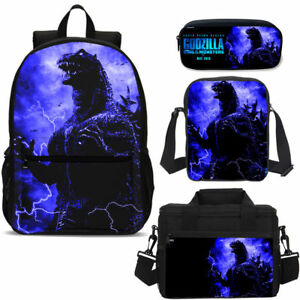 S//3 Weird THE JOKER Boys Big School Backpack Insulated Lunch Bag Pencil Case Lot