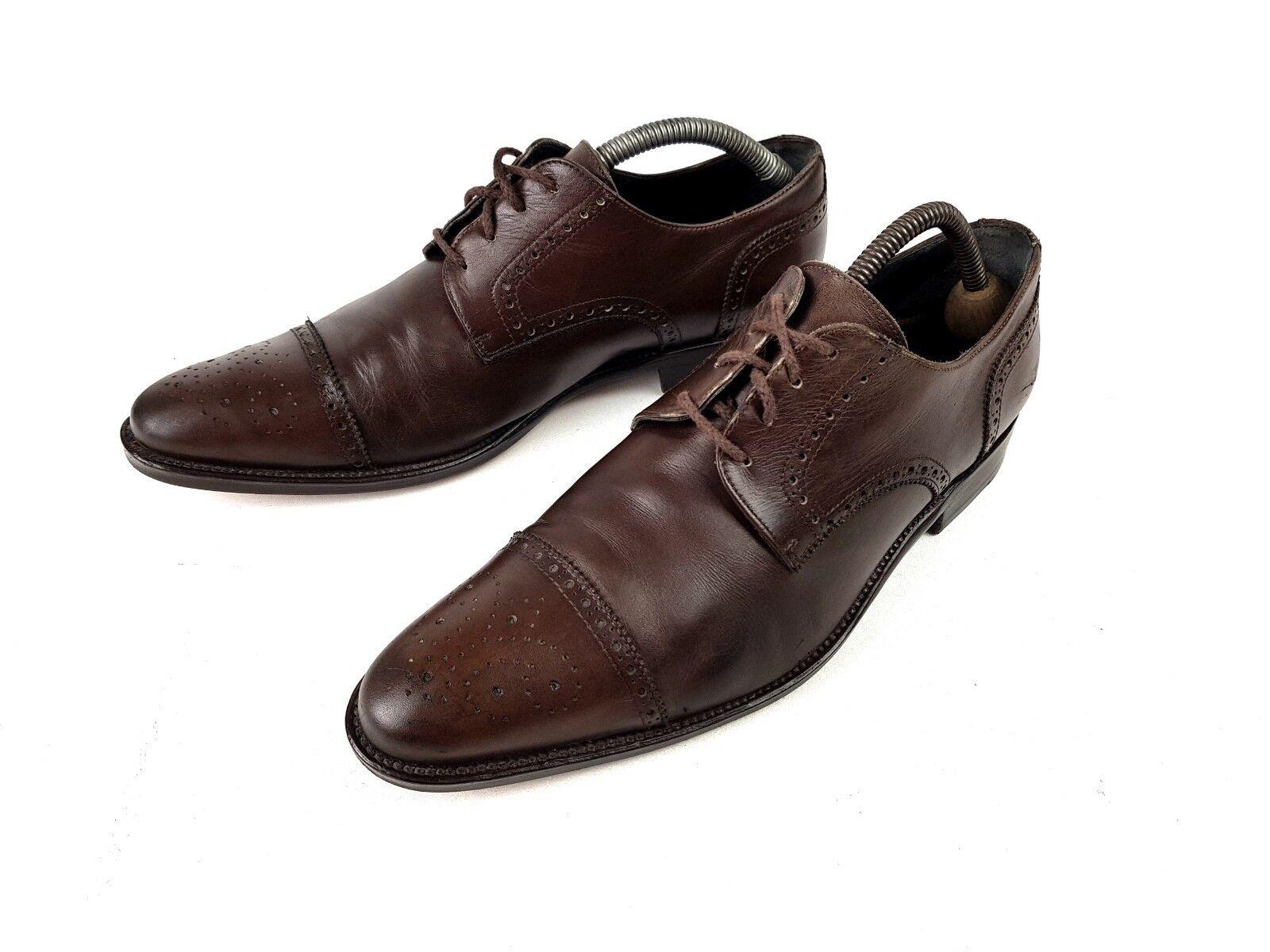 LLOTTUSSE SELECTION  Business-Schuhe Herren ORIGINAL BRAUN 41,5 7/5  ORIGINAL Herren 8be308