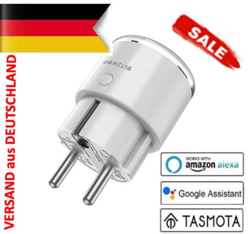 Tasmota BlitzWolf SHP6 wie Gosund SP111 3450W WLAN Steckdose Stromverbrauch
