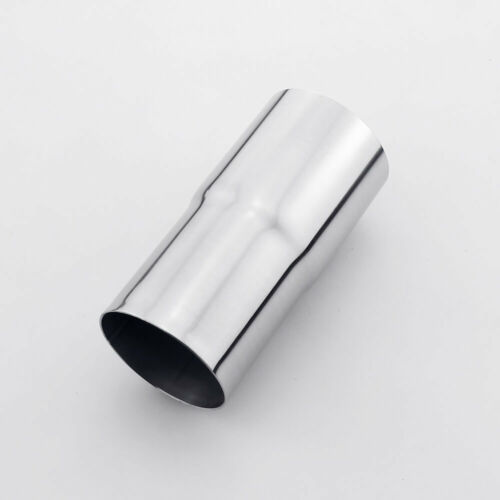 """2.25/"""" ID 58 mm to 2.5/"""" OD 64 mm exhaust reducer adapter pipe 304 stainless steel"""