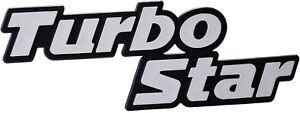 Auto-3D-Relief-Schild-Turbo-Star-Emblem-Signet-15-cm-HR-Art-14725