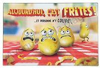 Dessous De Plat, Planche À Découper Humoristique Aujourd'hui C'est Frites Neuf