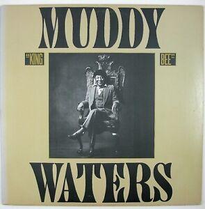MUDDY WATERS King Bee LP 1981 BLUES NM- NM-