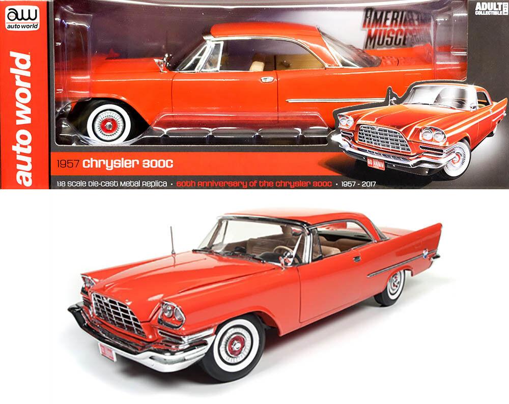 1957 chrysler 300c hardtop 60th Anniversary 1 18 auto World ertl amm1110