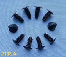 (2138 A) 10x Verkleidung Clips Befestigung Klips Halter Panel Universal schwarz