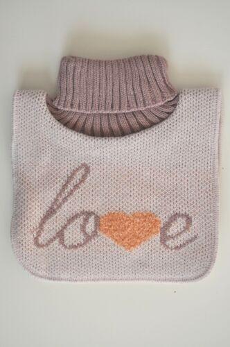 neck warmer chest warmer golfik for kids children 1-4 knitted and fleeced top Q