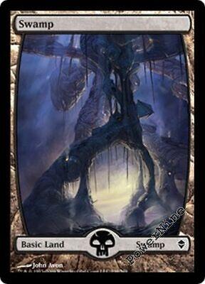 1 Swamp #241 ~ Land Zendikar Mtg Magic Basic Land 1x x1