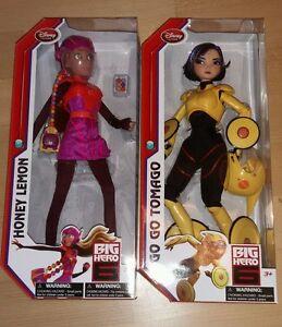 Disney Bh6 Big Hero 6 Miel Lemon Go Tomago Poupée Puppe Nrfb