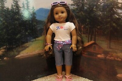 American Girl Doll 2011 Kanani/'s Retired Aloha Outfit Sunglasses ONLY