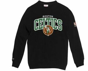 Black Sweatshirt E Ness Mitchell Celtics Boston Hwc Nero 1z6IYq
